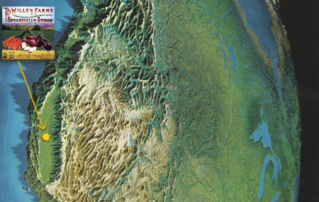 Pacific Northwest Topography